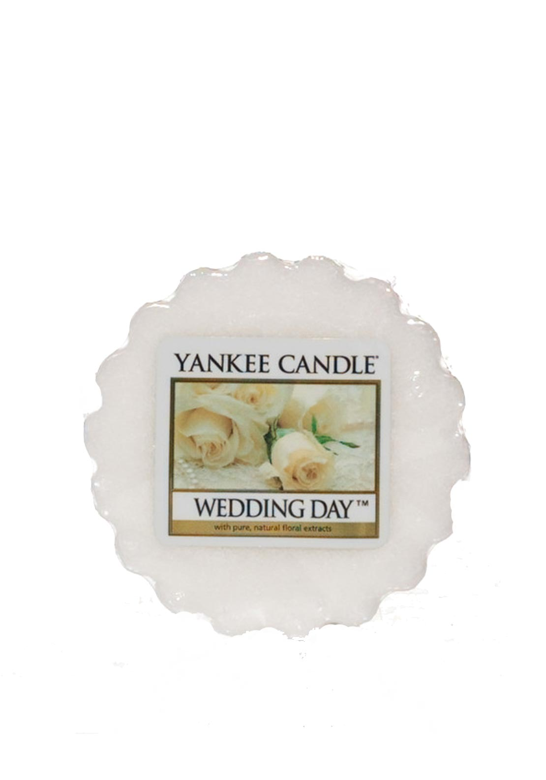 Yankee Candle Wax Tart, Wedding Day
