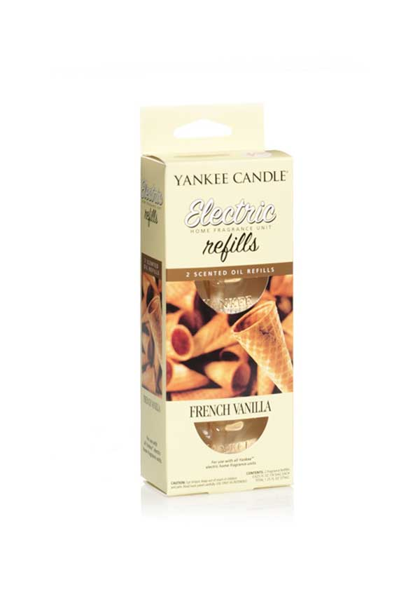 Yankee Candle Electric Plug In Refills, French Vanilla