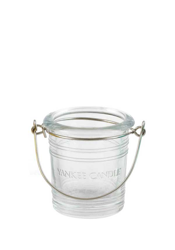 Yankee Candle Bucket Votive Holder, Clear