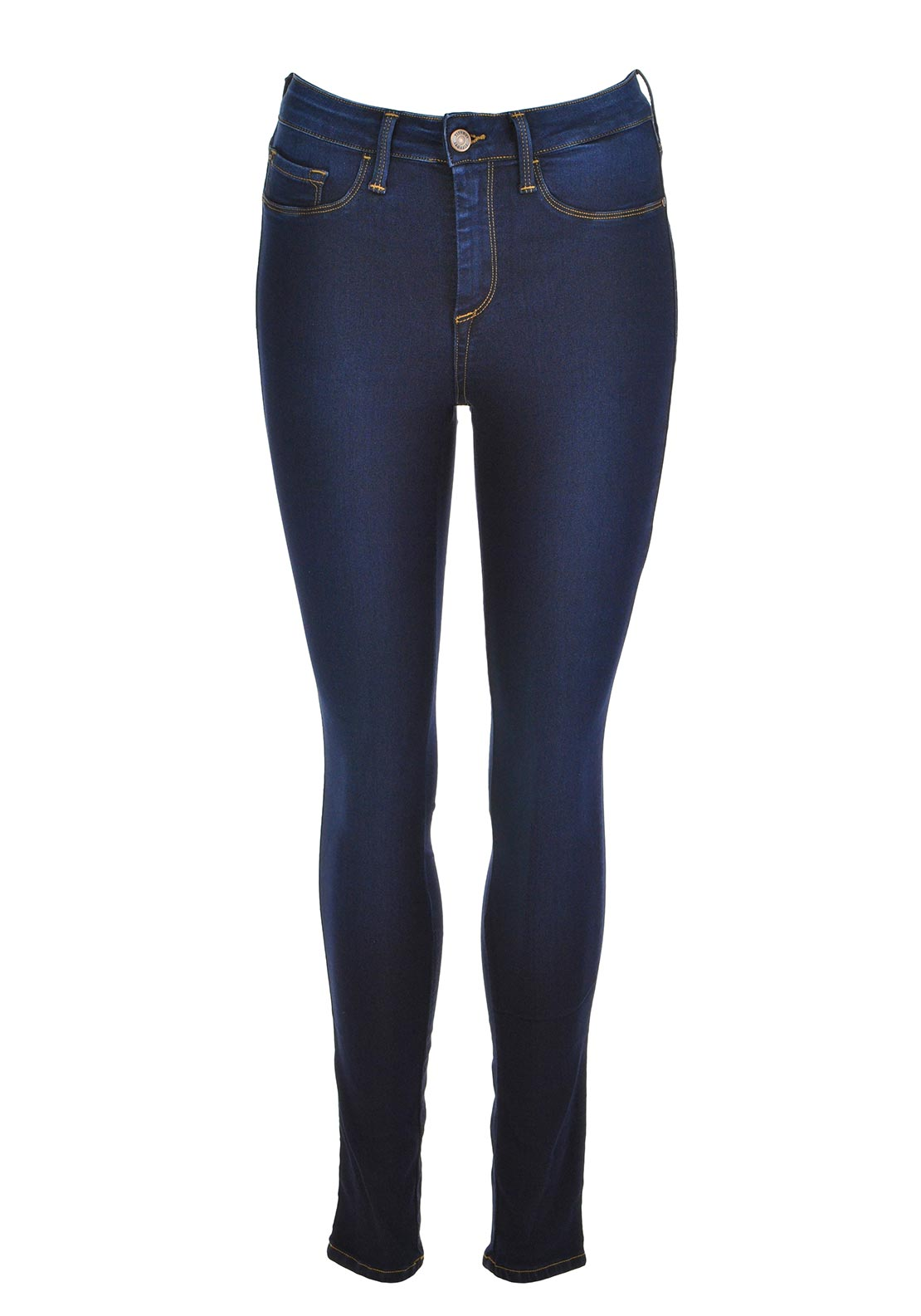 07a186611af ... Navy Tiffosi Womens One Size Fits All Skinny Jeans