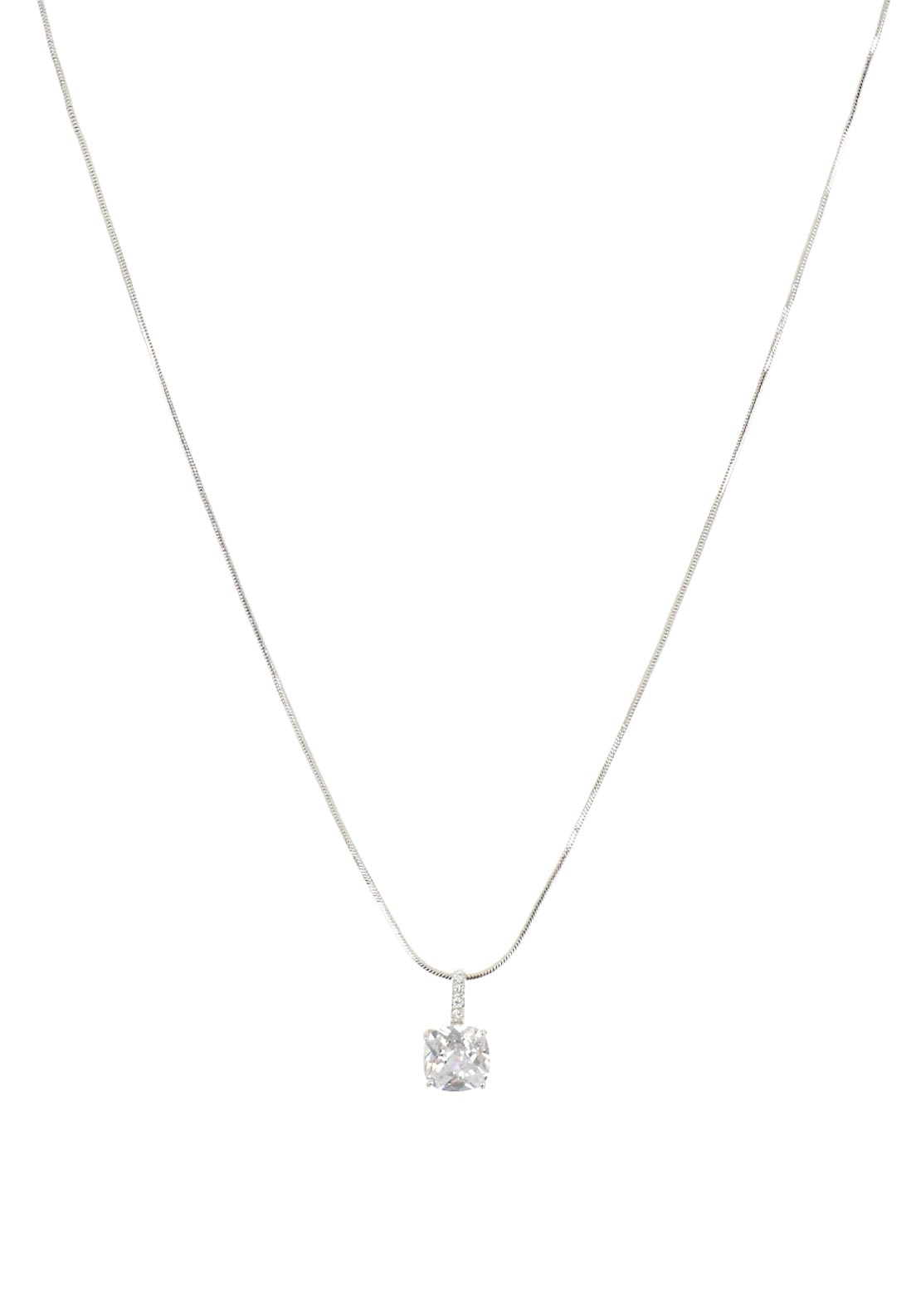Jewel by absolute diamante pendant necklace silver mcelhinneys jewel by absolute diamante pendant necklace silver aloadofball Images