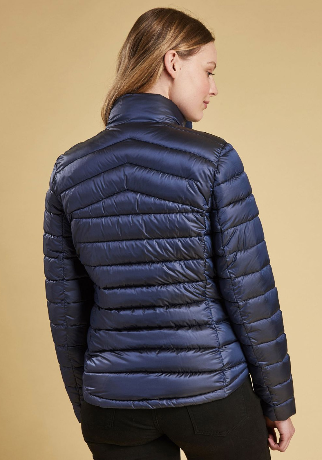 Barbour Womens Vartersay Quilted Jacket Navy Mcelhinneys