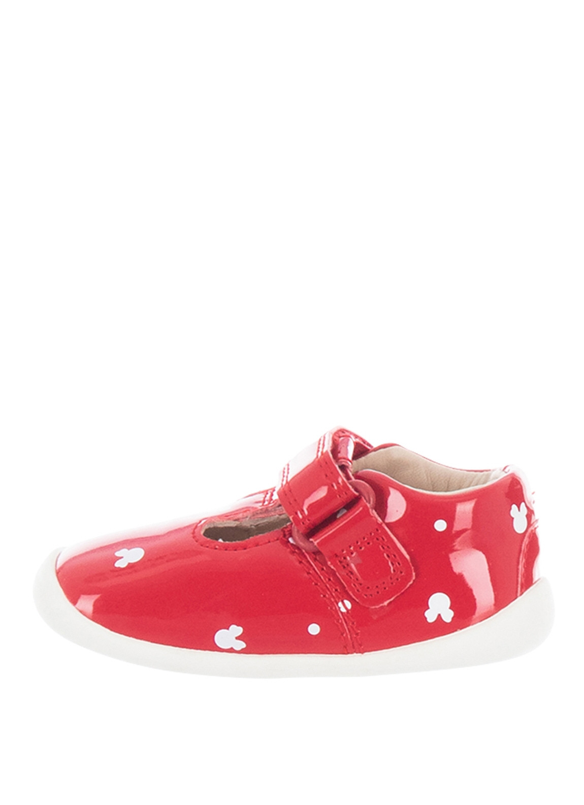 73fd5f51b2 Clarks Toddler Minnie Mouse First Shoes, Red | McElhinneys