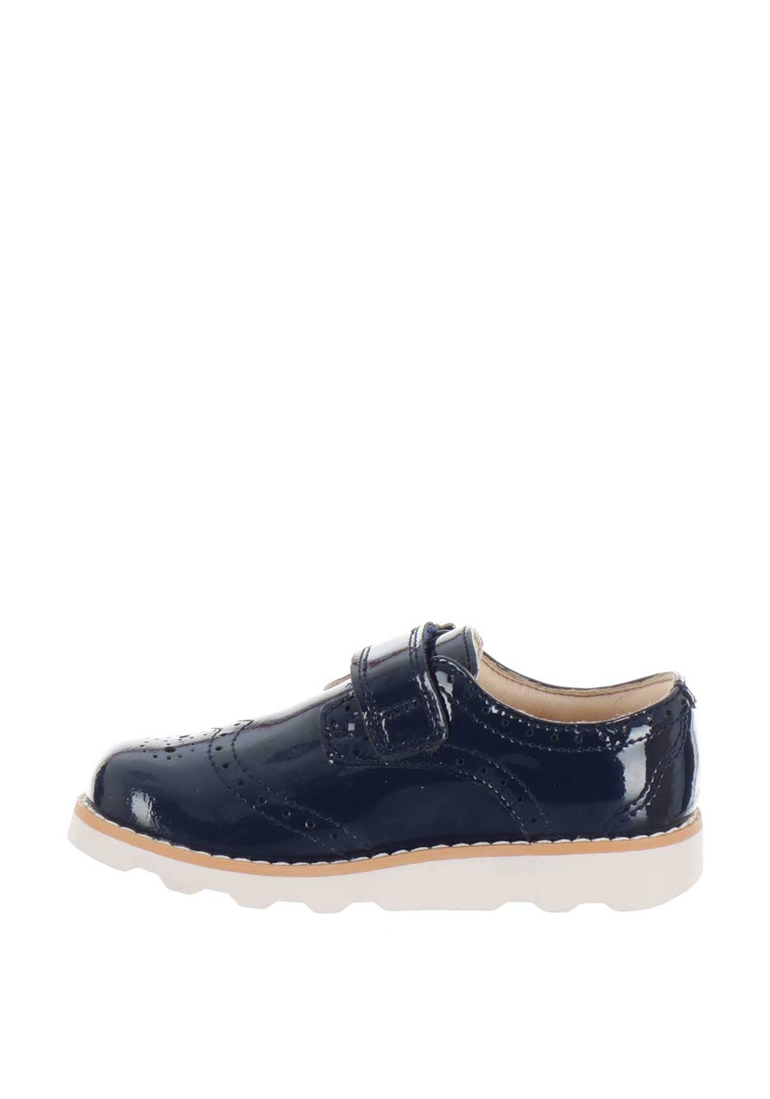 eef588893b6 Clarks Girls Crown Pride Patent Leather Shoes