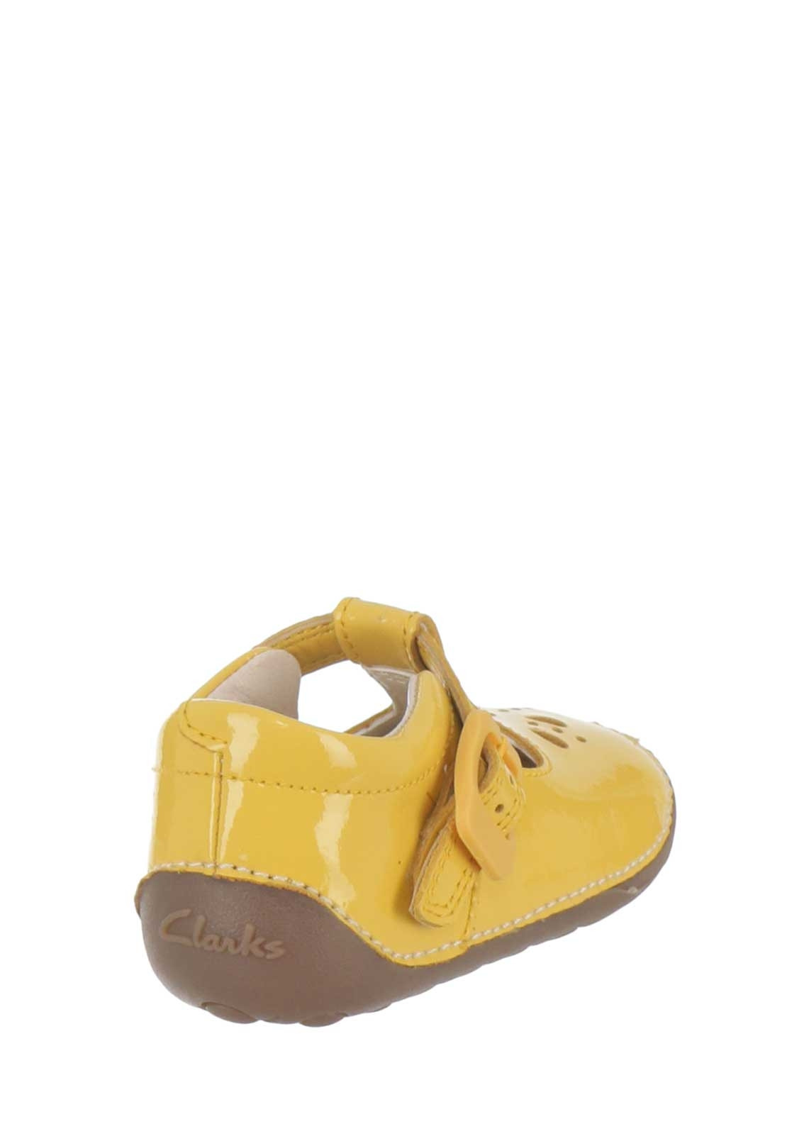 ffb026860fac4 Clarks Baby Girls Little Weave Leather Pre-walking Shoes