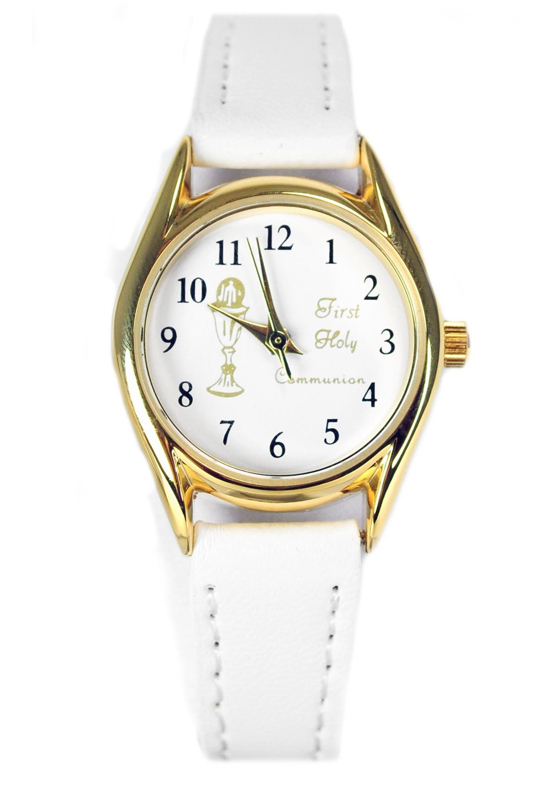 D'alton My First Holy Communion Watch, White and Gold ...