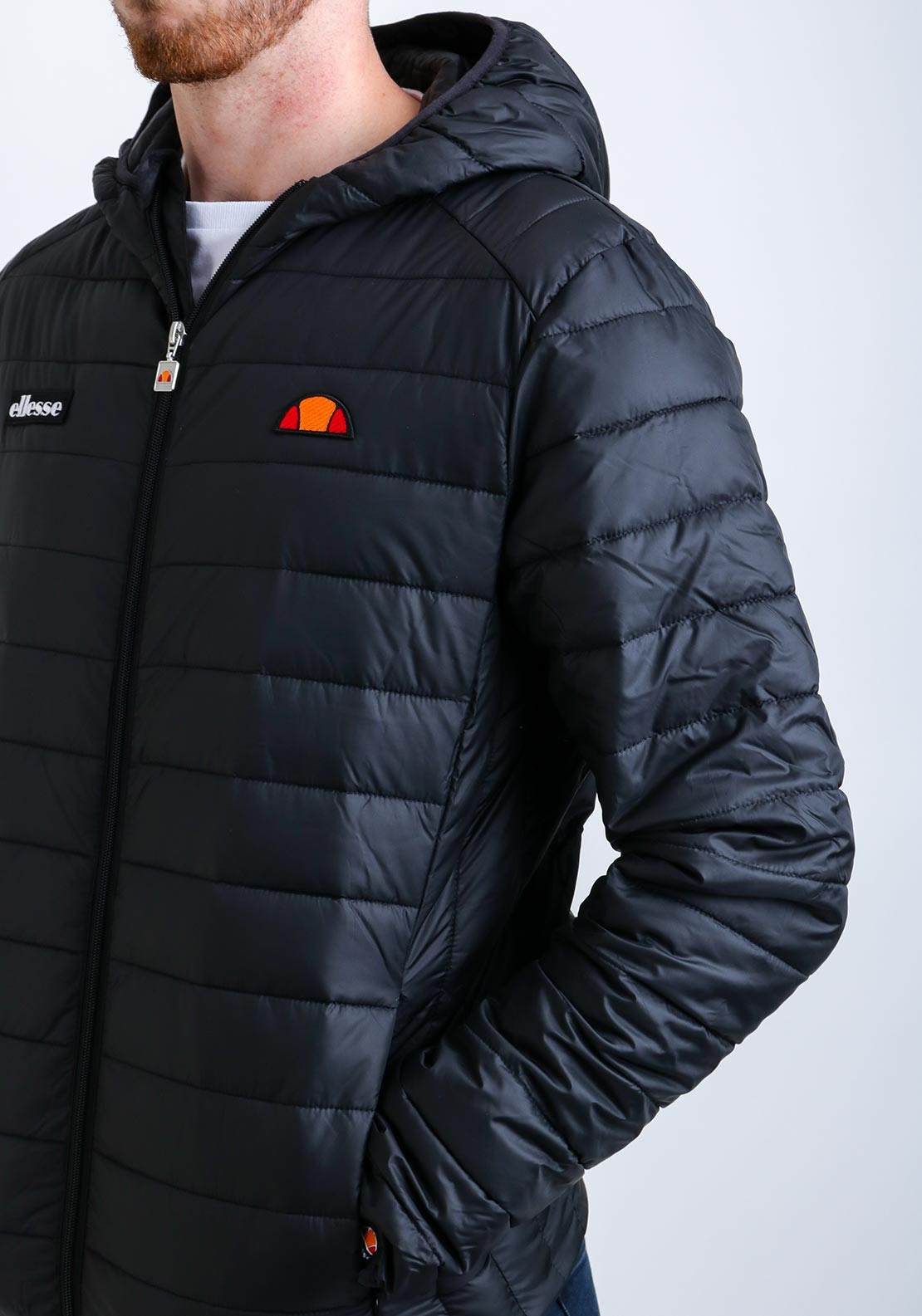4c35aaa48d Ellesse Men's Lombardy Padded Jacket, Black