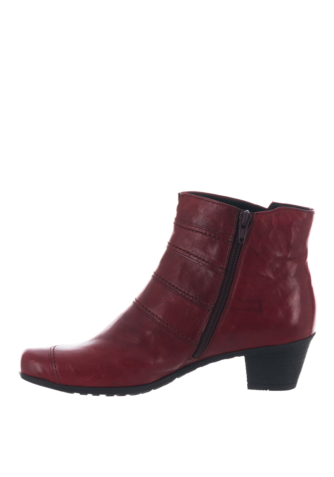 special sales dirt cheap discount sale Gabor Leather Best Fitting Button Ankle Boots, Red