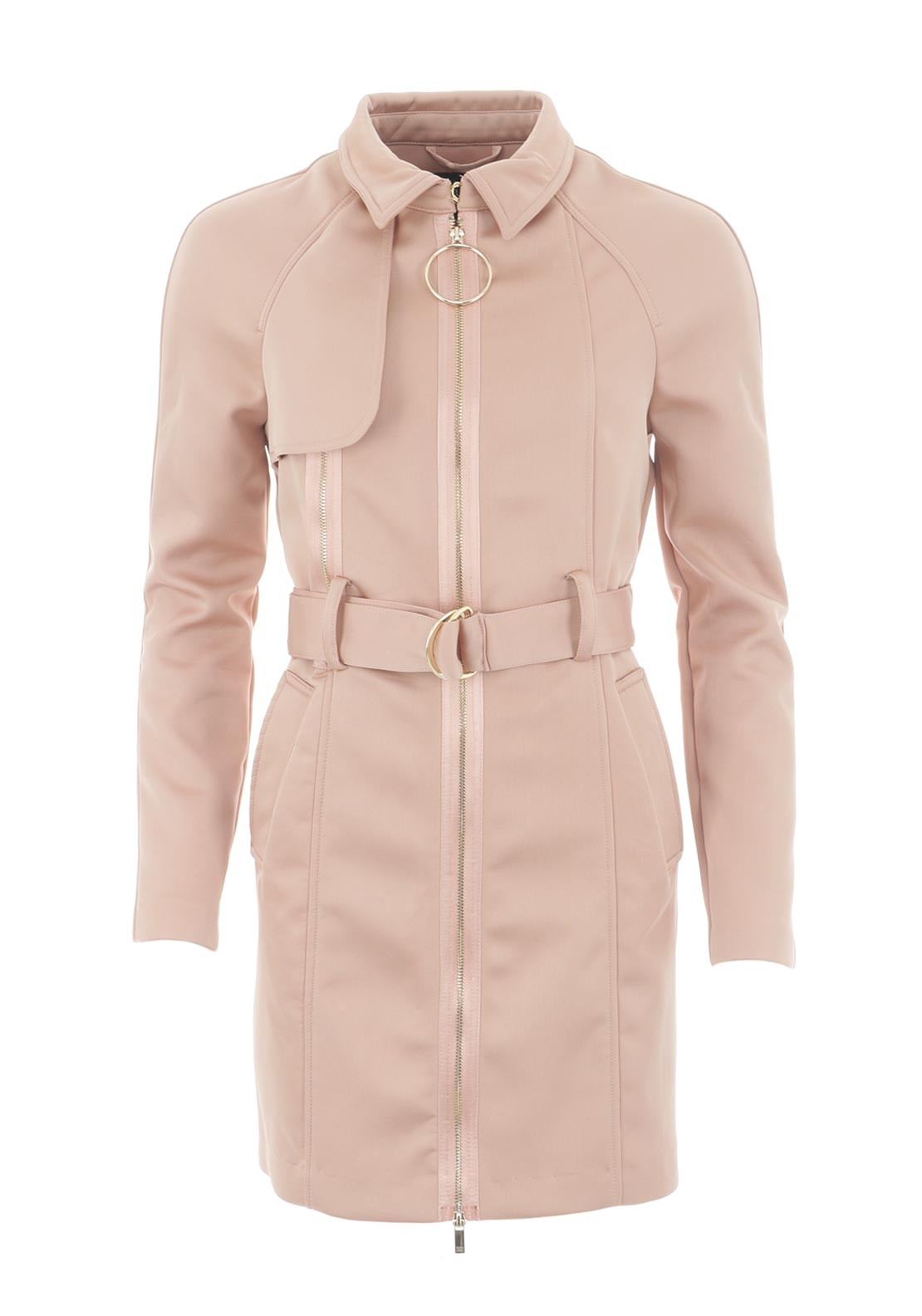Guess Womens Trench Coat Nude Mcelhinneys