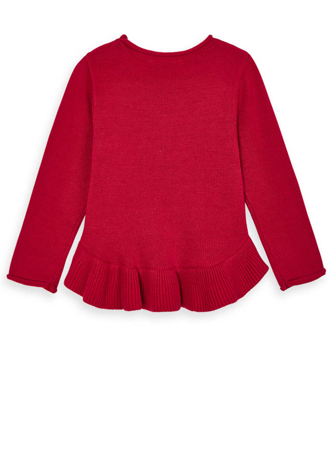 Girls Mayoral red Sweater jumper Age 7 Years New