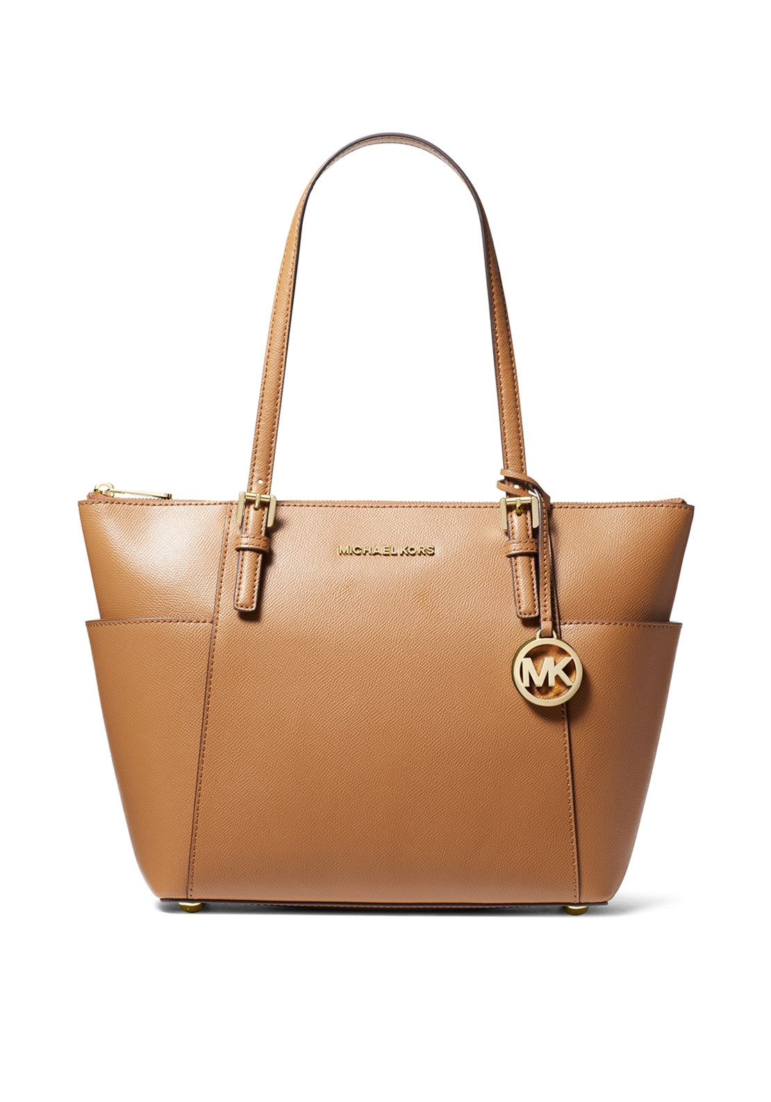caee2bbeb1e9 MICHAEL Michael Kors Jet Set Leather Tote Bag, Acorn. Be the first to  review this product