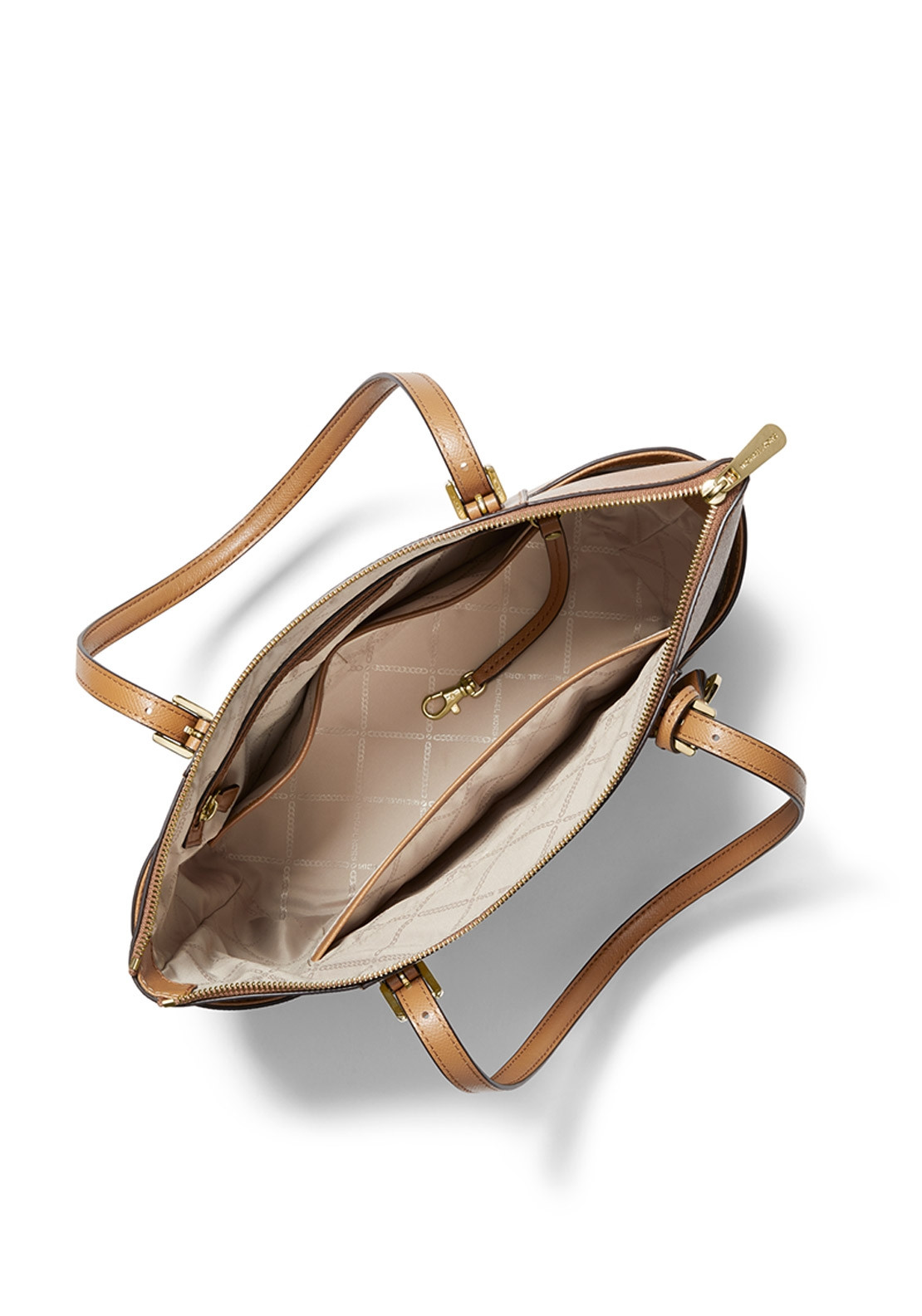 c6ae0c2fdbd5e1 MICHAEL Michael Kors Jet Set Leather Tote Bag, Acorn. Be the first to  review this product