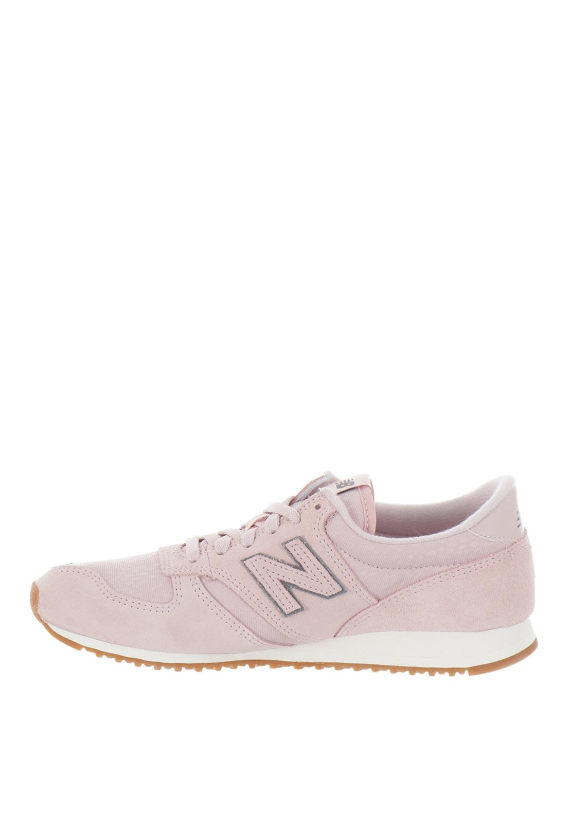 New Balance Womens 420 Suede Mix Trainers, Pink