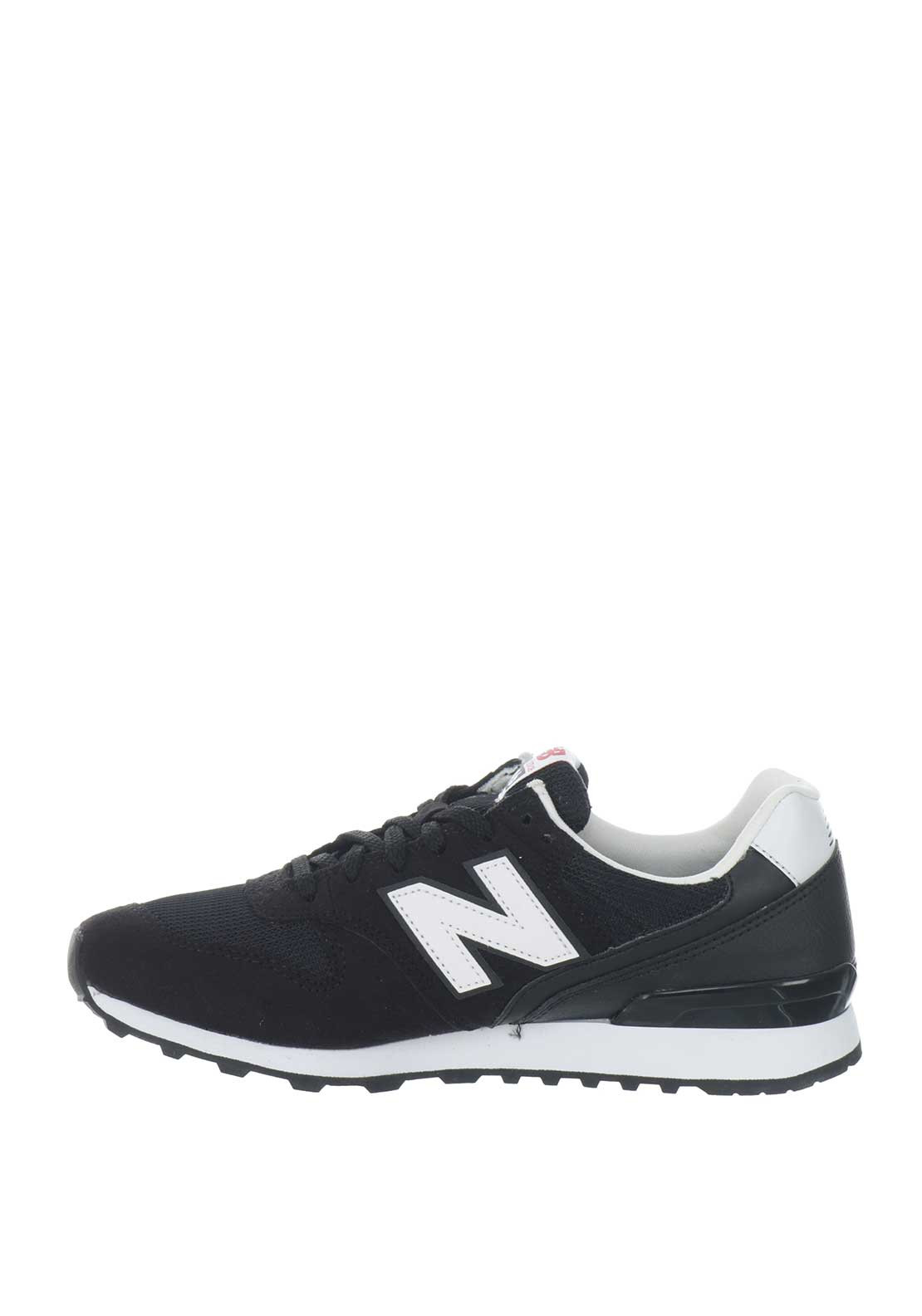 more photos cc9e5 3137d New Balance Womens Suede 996 Runners, Black