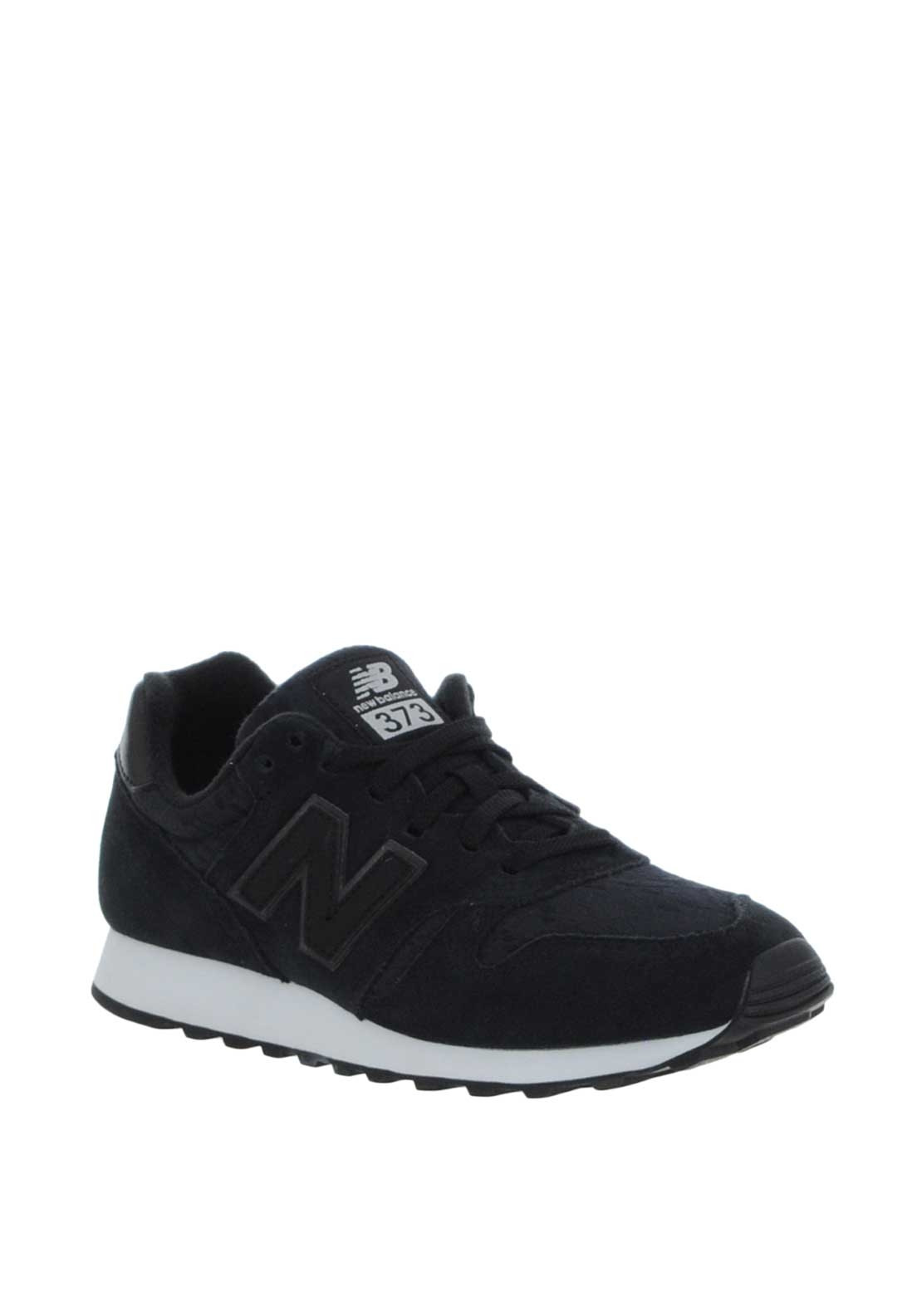 d35b10697e9e ... coupon new balance womens 373 suede trainers black 3b391 dfd4c
