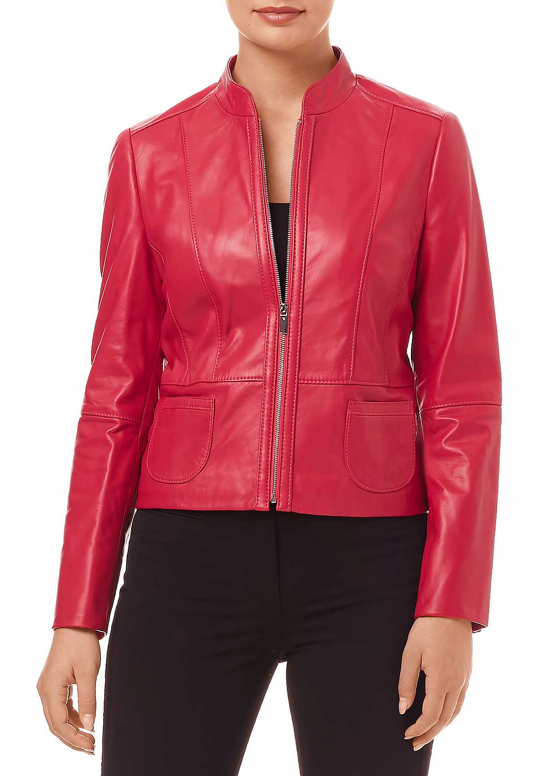 Gerry weber leather jacket