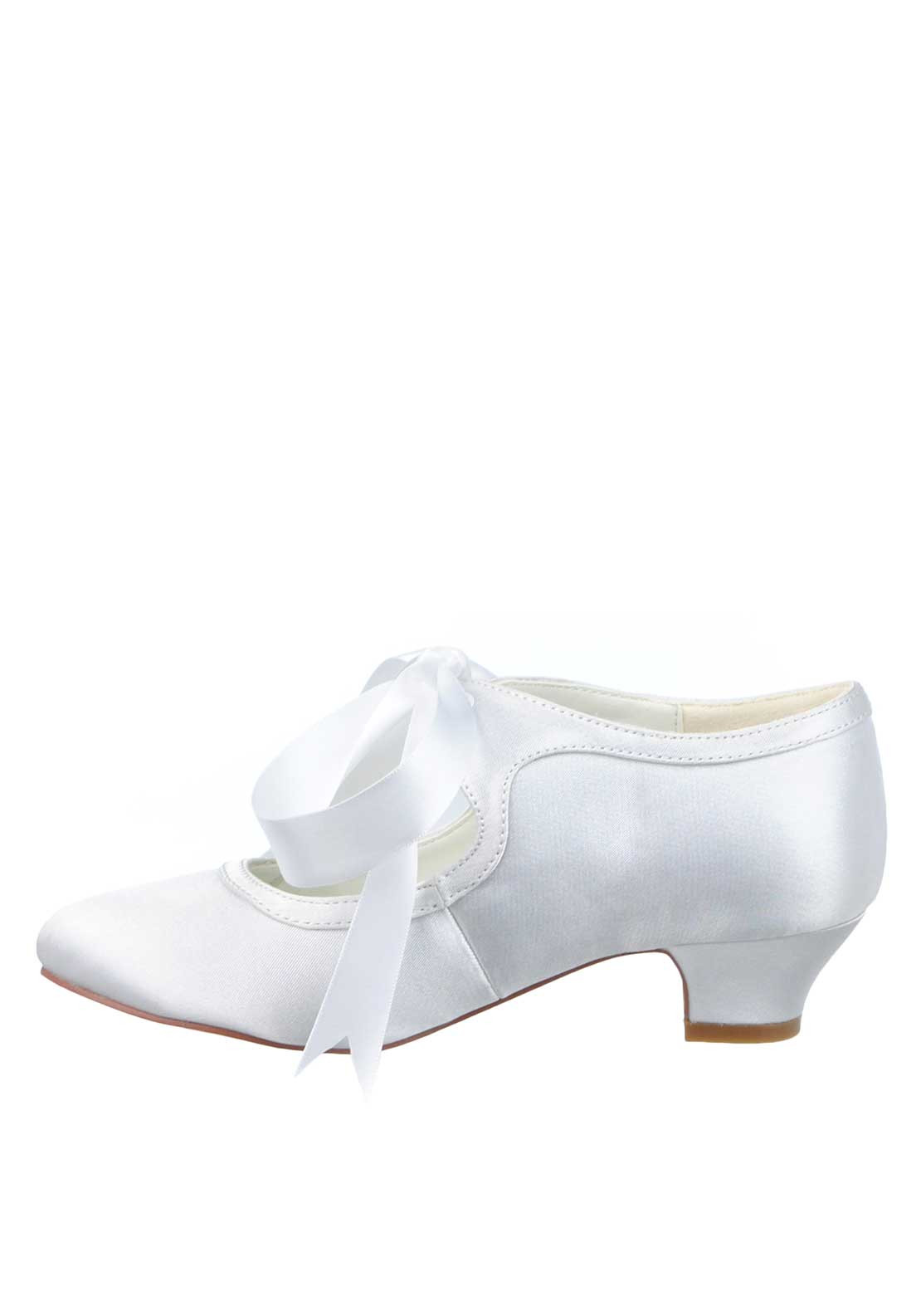 Wedding Communion Shoes buy little people girls bow satin communion shoes white more views