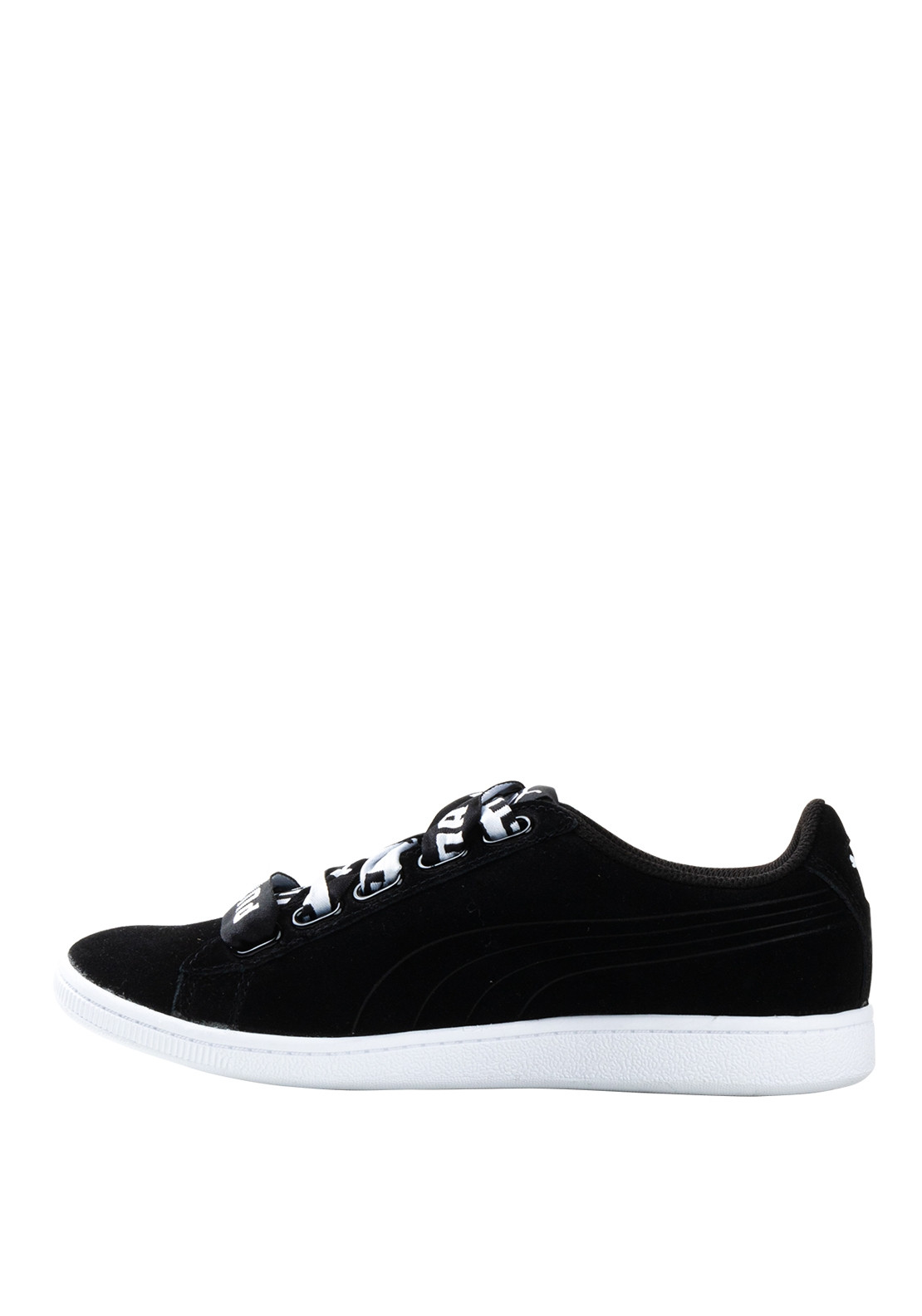 nouveaux styles db363 00e9c Puma Soft Foam Logo Lace Up Trainers, Black