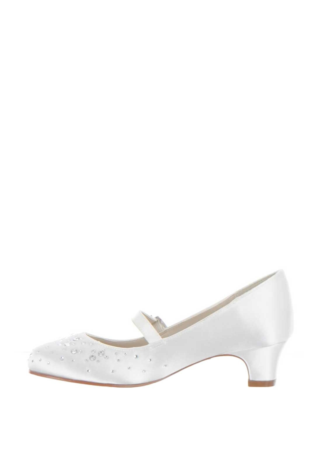243b150fd Rainbow Club Cherry Sparkly Communion Shoes, White. Be the first to review  this product