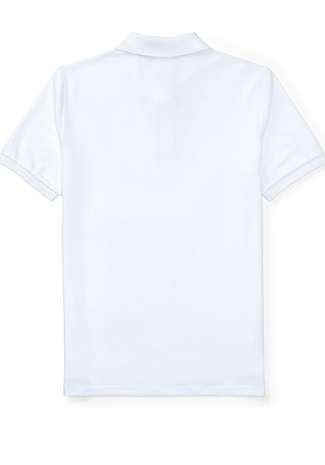 3d7137ad Ralph Lauren Boys Slim Fit Polo Top, White. Be the first to review this  product