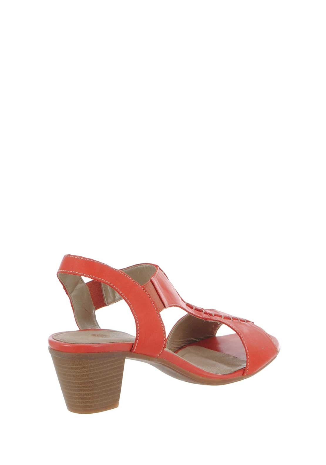 331b2ba980a9 Remonte Womens Leather Block Heel Sandals