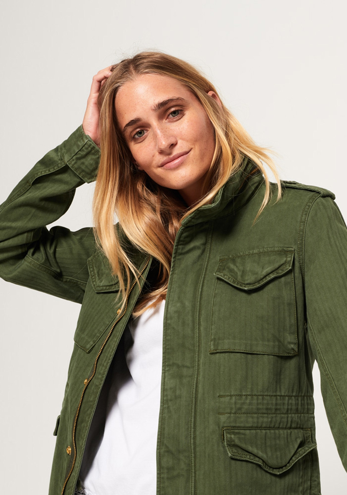 huge selection of 436c2 85917 Superdry Womens Rookie Military Jacket, Green