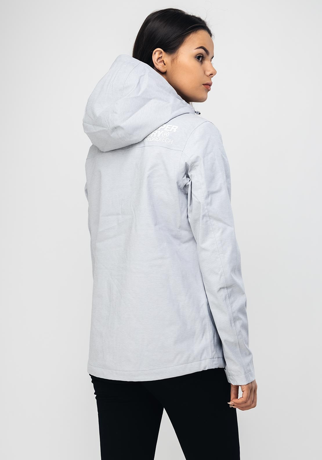 better price for united states super cheap compares to Superdry Alvia Waterproof Jacket, Grey