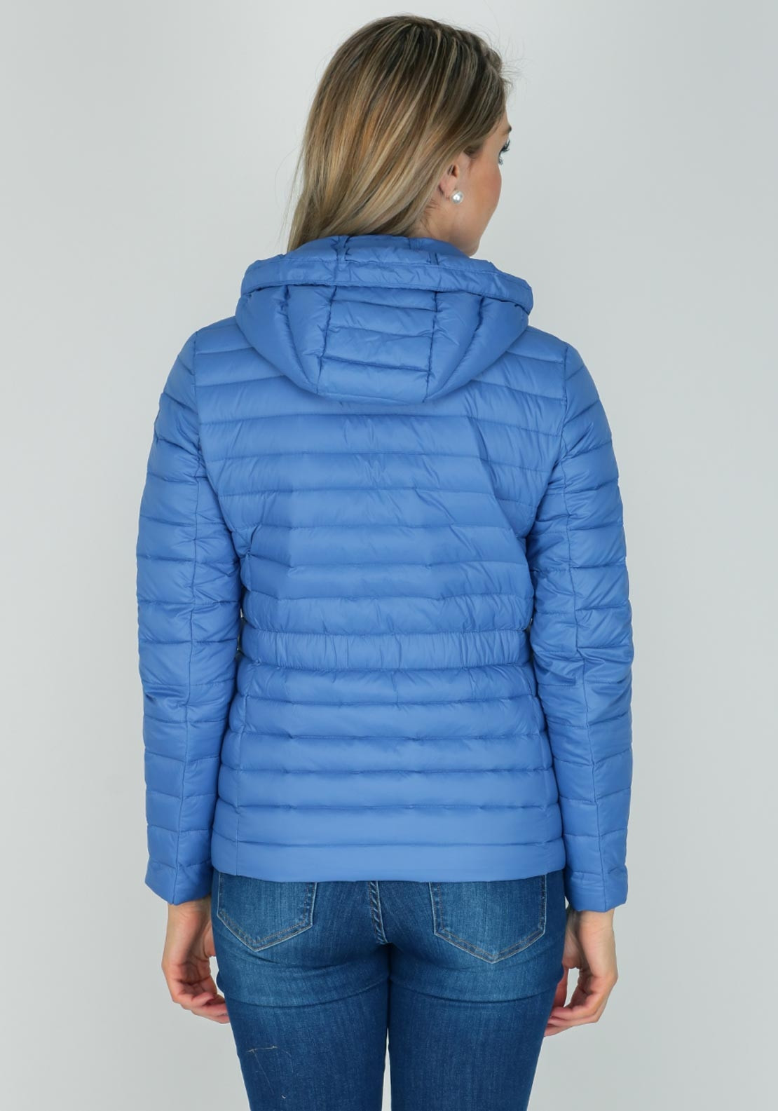Tommy Hilfiger Womens New Isaac Quilted Jacket Blue