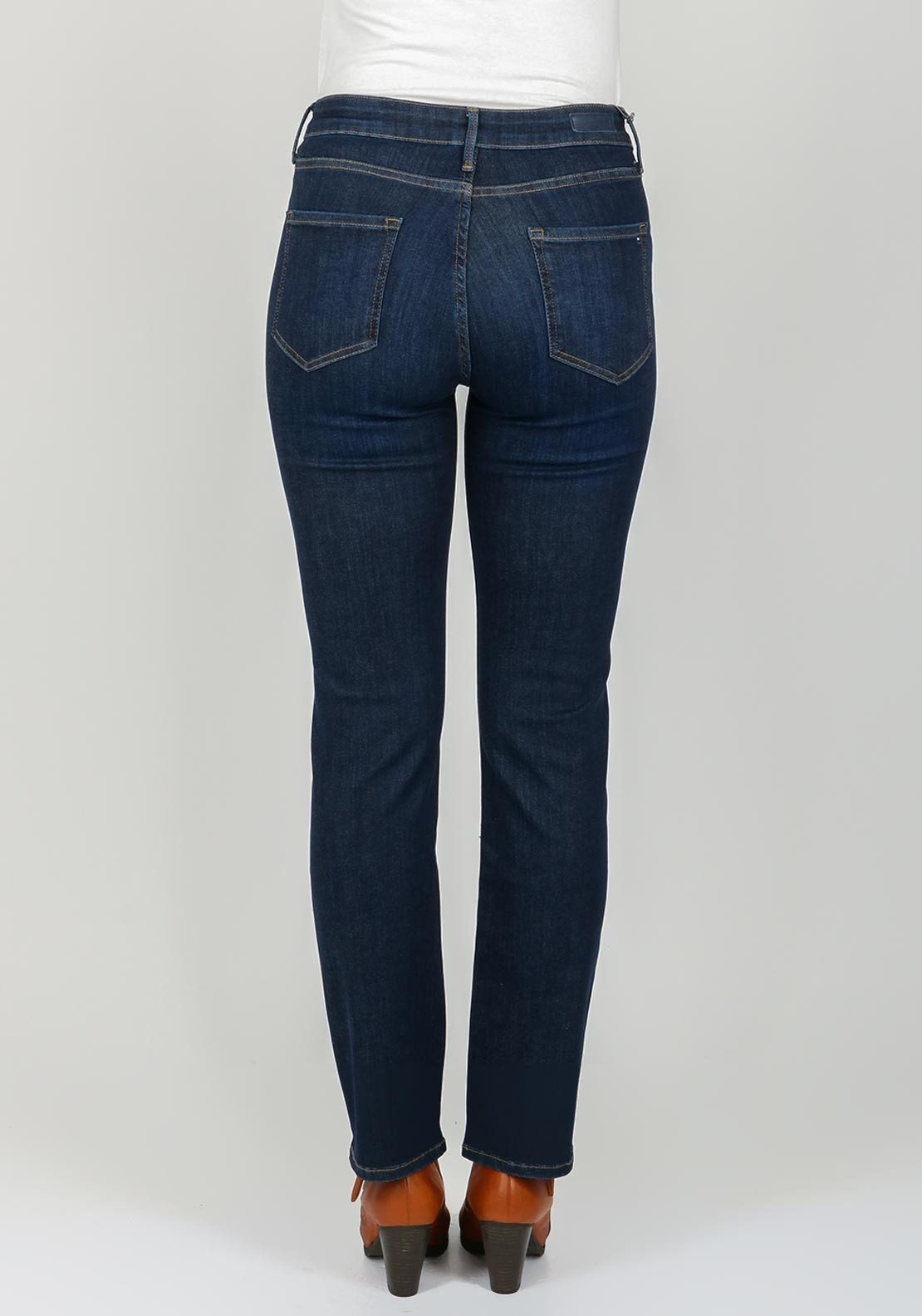 c607cf288 Tommy Hilfiger Womens Lisbon Straight Jeans, Navy. Be the first to review  this product