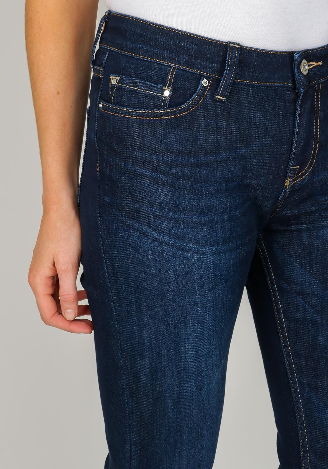 818cf2e7 Tommy Hilfiger Womens Rome Straight Leg Jeans, Navy. Be the first to review  this product