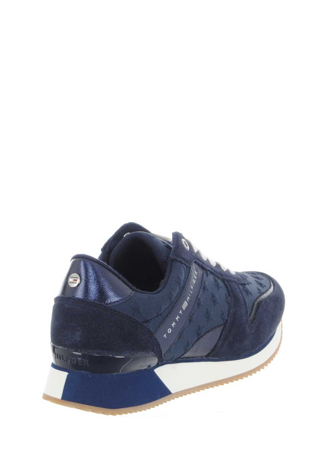 250a1d3284c441 Tommy Hilfiger Women Star Leather Trainers
