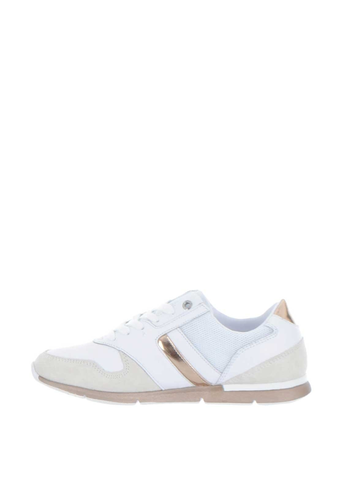 bc13c411b Tommy Hilfiger Womens Iridescent Light Trainers, Rose Gold. Be the first to  review this product