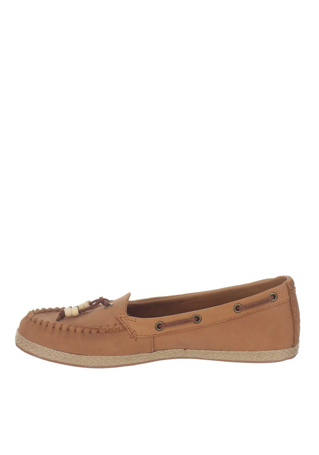 9b56da466a8 UGG Australia Womens Suzette Leather Loafers, Tan