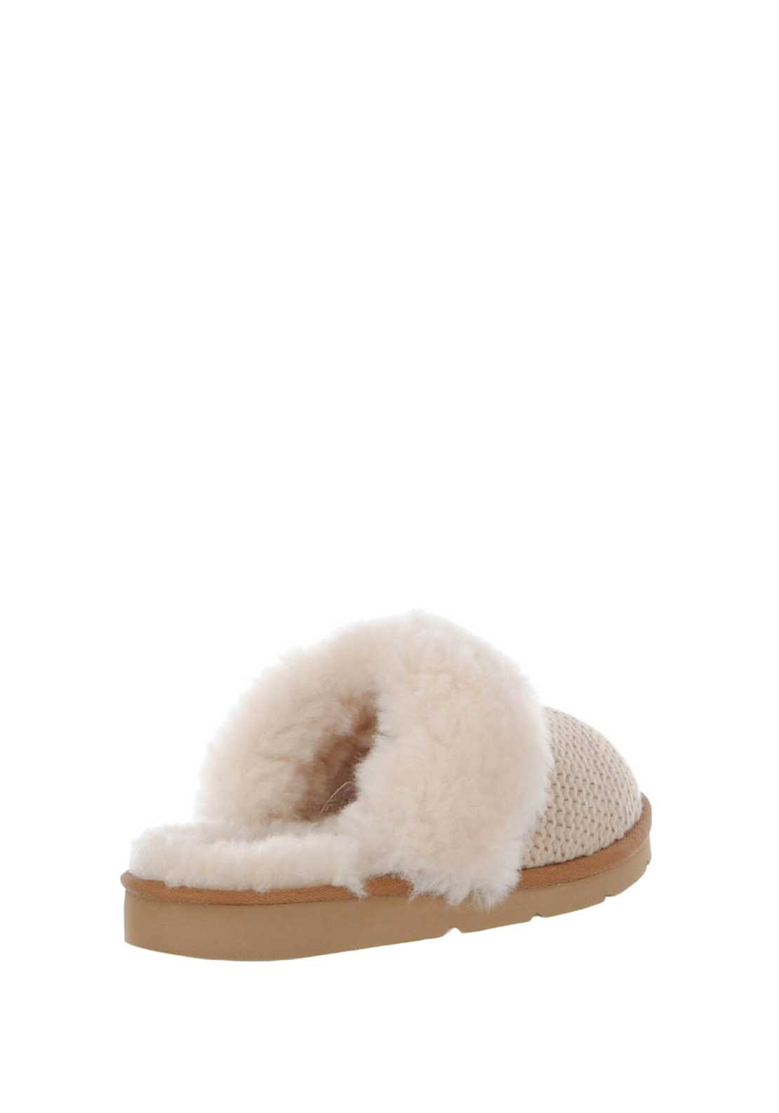 807a9ba8713 UGG Womens Cozy Knit Slippers, Cream