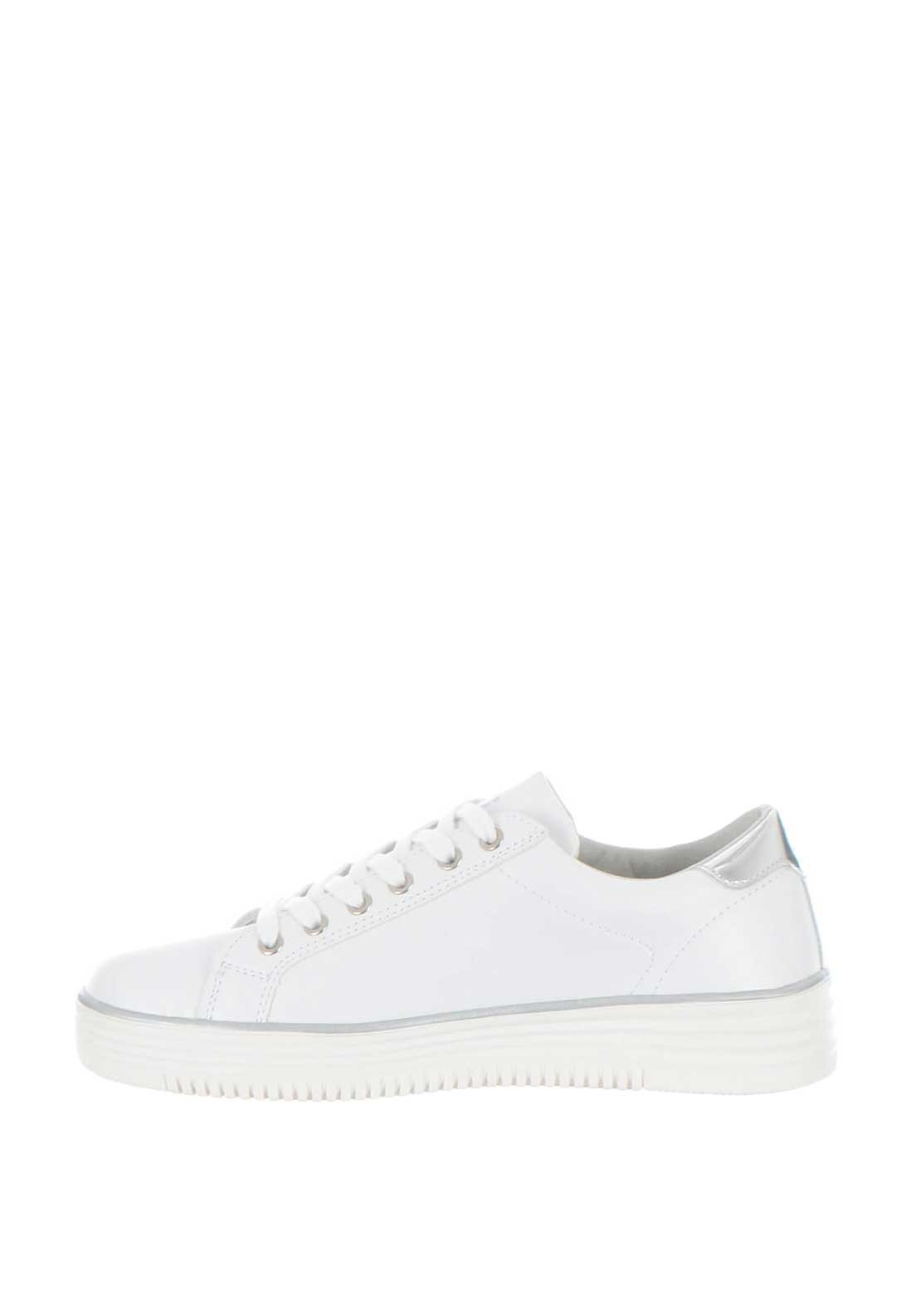 Xti Womens Pearl Embellished Trainers