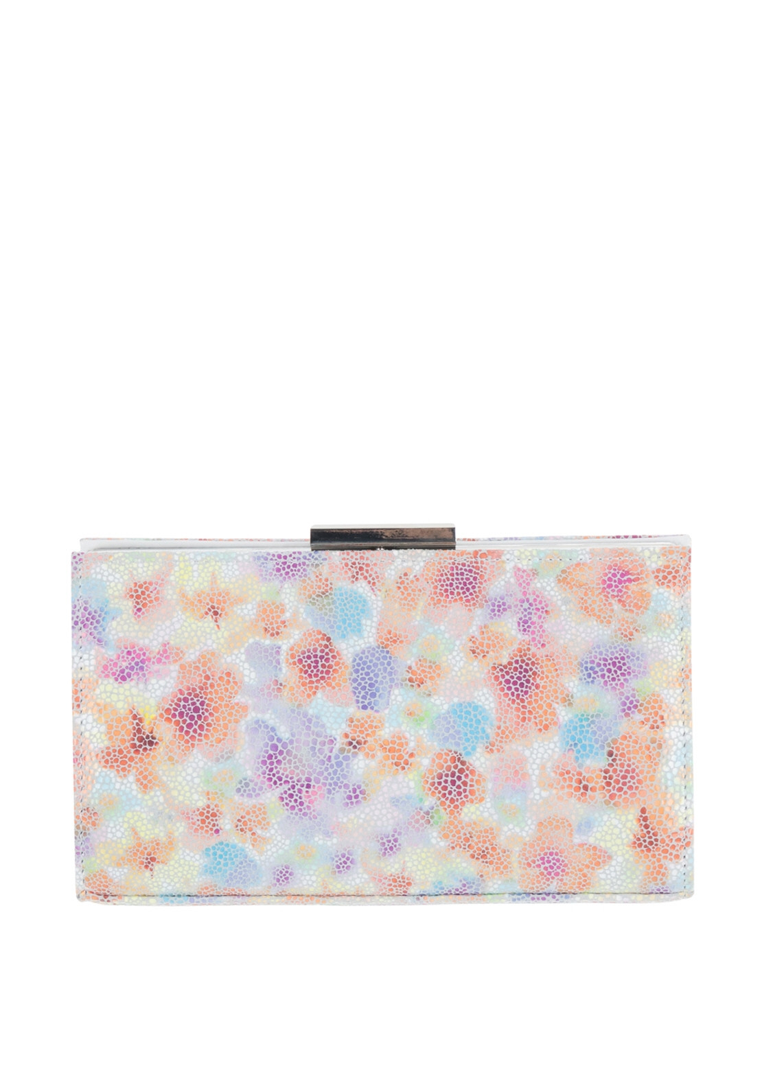 4b99329ee0d0 Van Dal Zinnia Print Leather Clutch Bag, Multi-Coloured. Be the first to  review this product