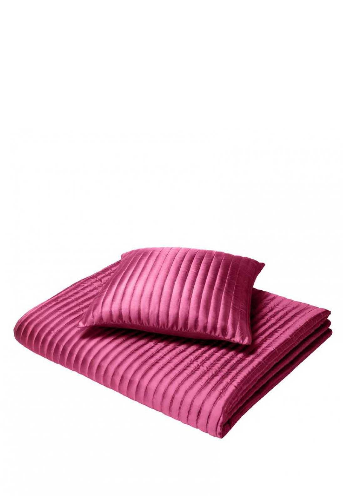 Catherine Lansfield Home Taffeta Cushion Cover, Hot Pink