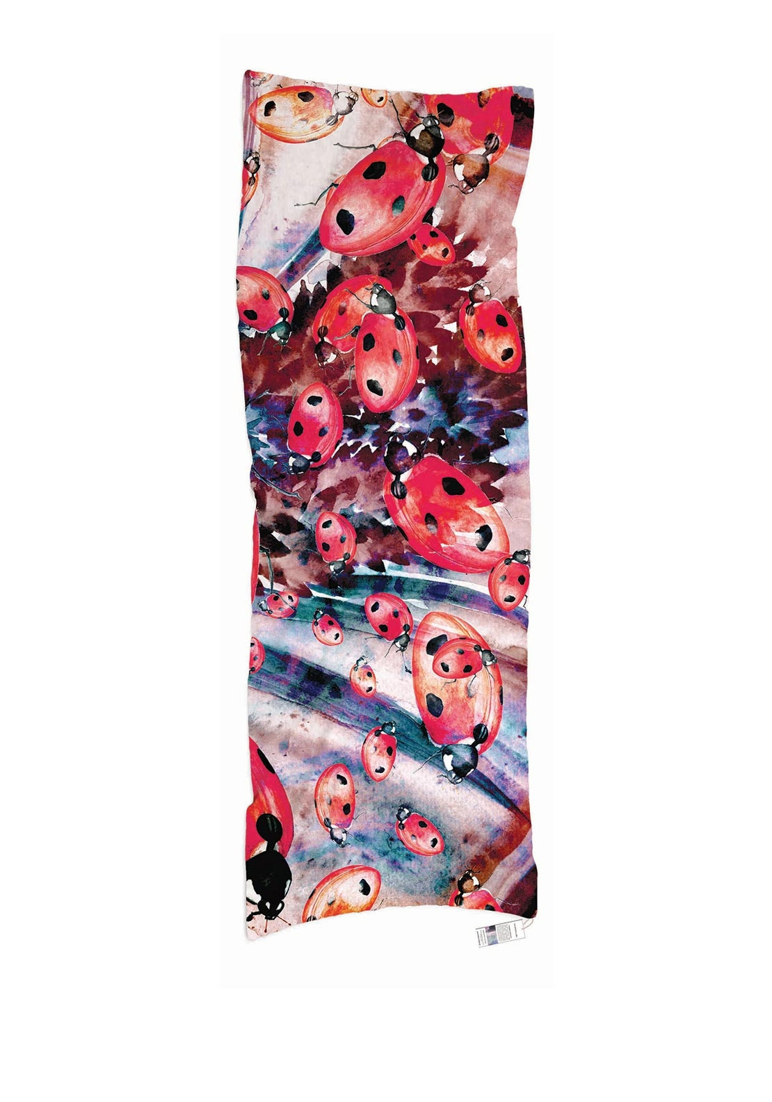 The Artists Label Lady Bugs A Round Us Scarf
