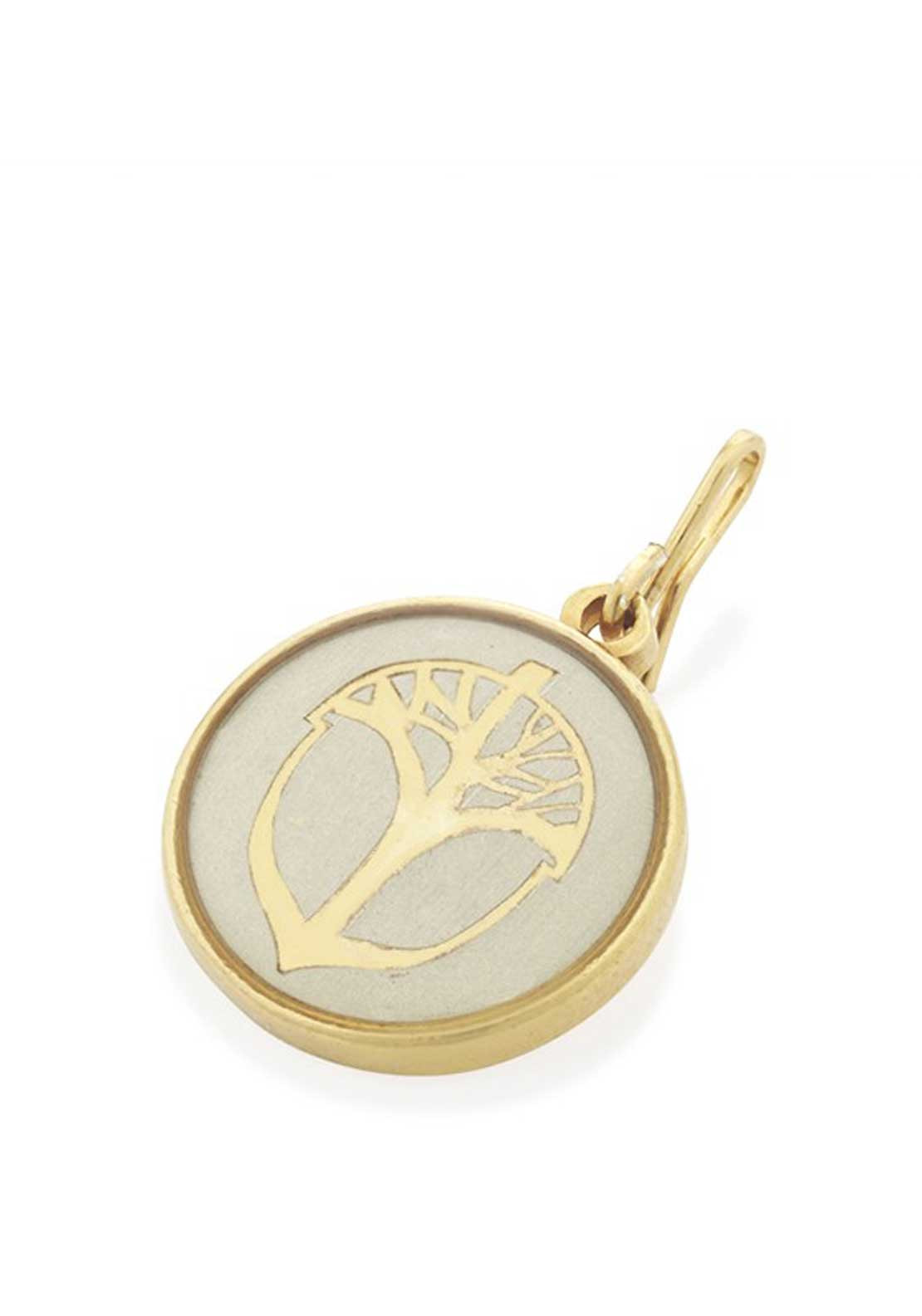 Alex and Ani Chain Station Unexpected Miracles Charm Cream