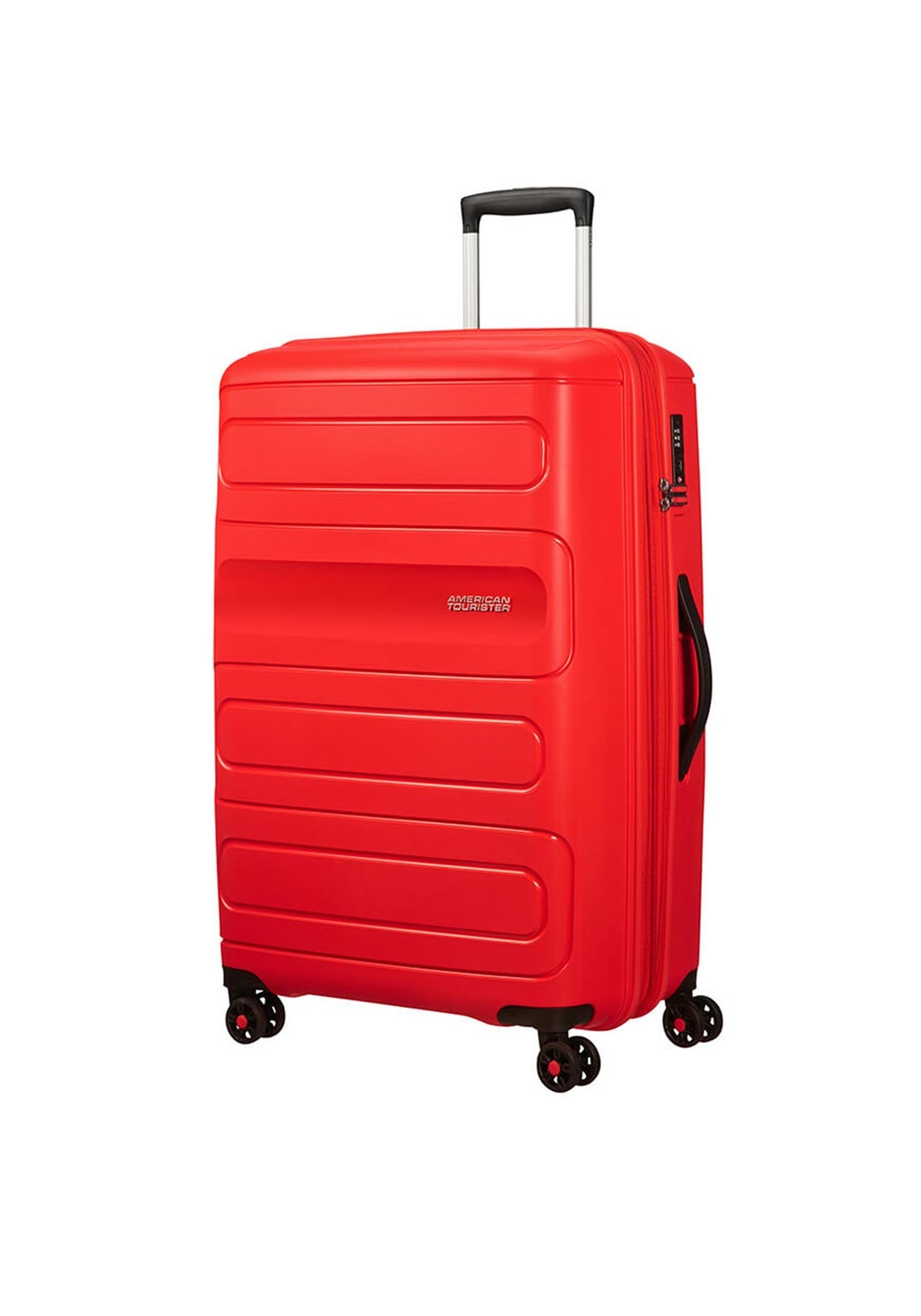 American Tourister Sunside Suitcase 77cm, Sunset Red