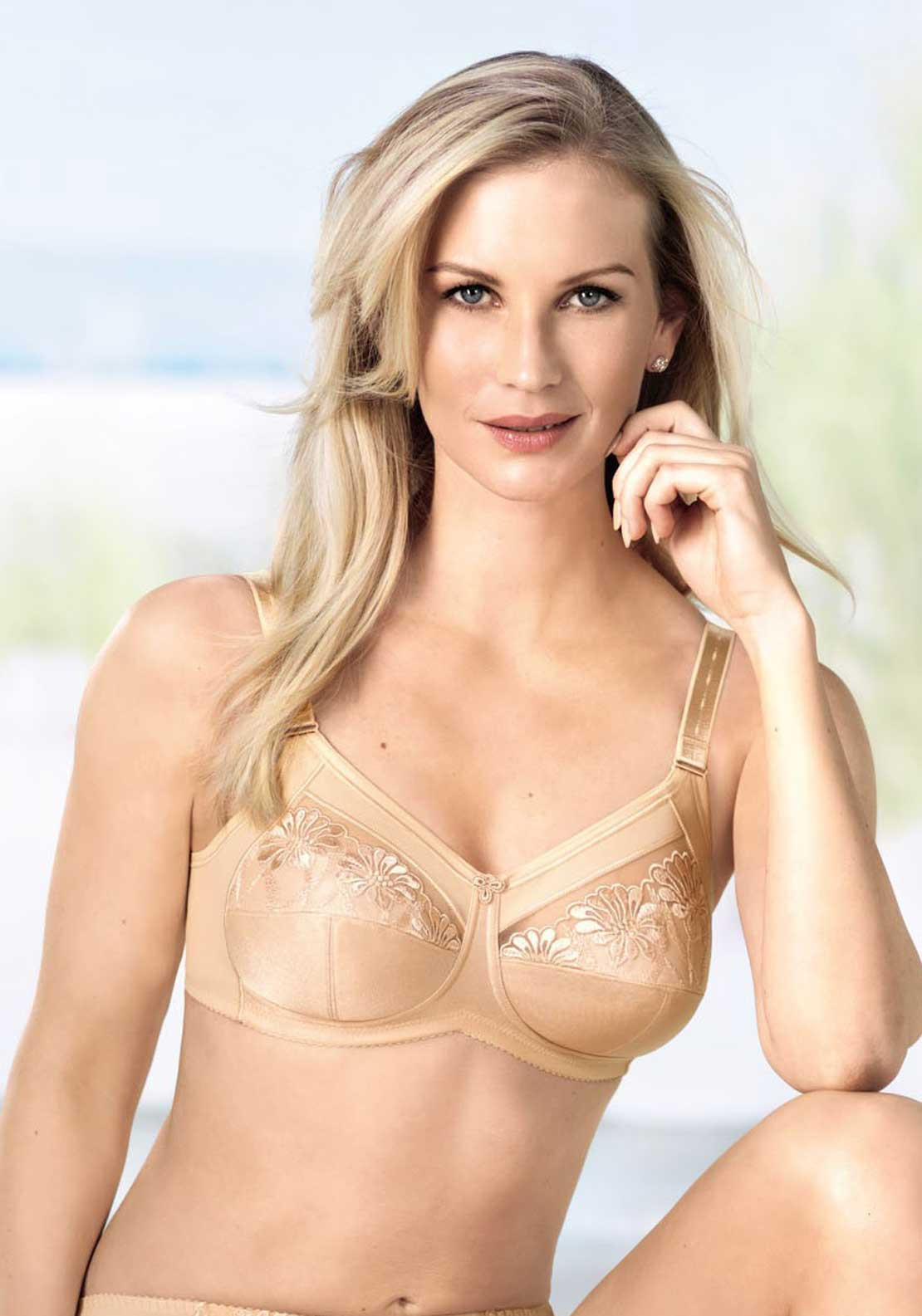Anita Safina Non-Wired Mastectomy Bra, Nude