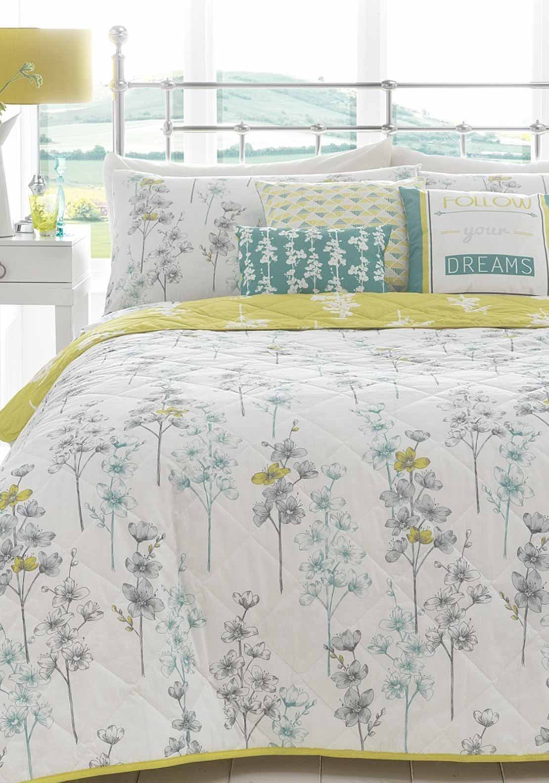 Appletree Blossom Stems Duvet Cover Set