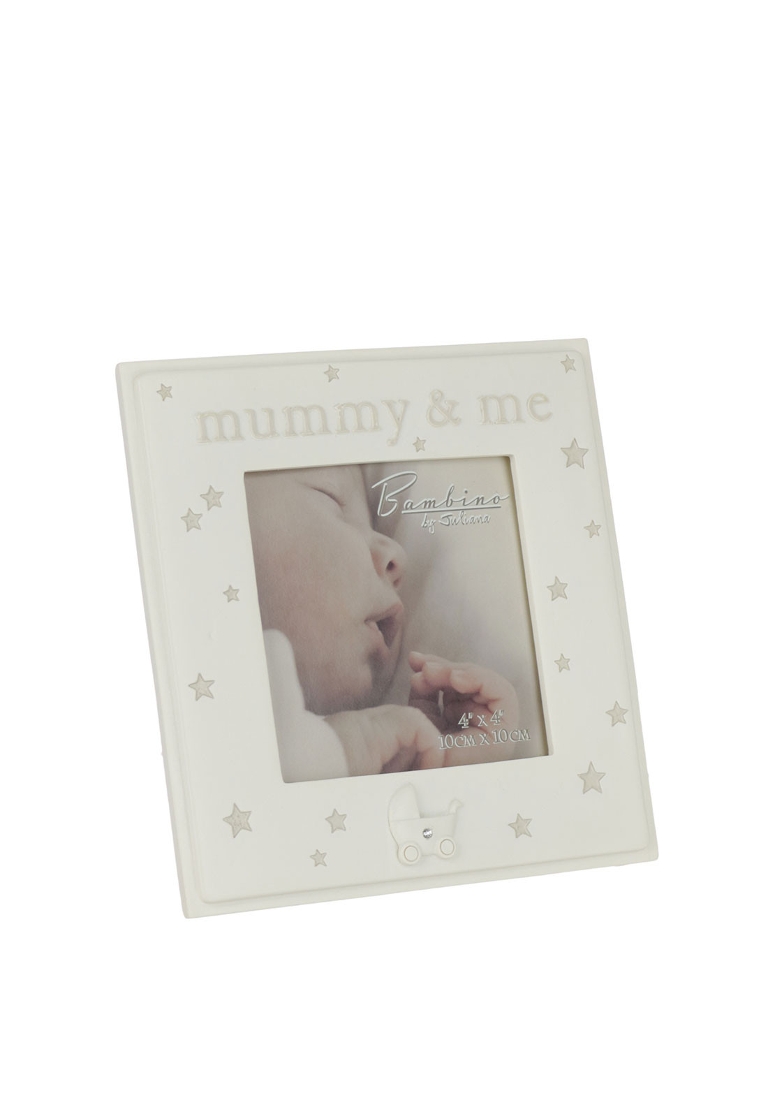 Juliana Bambino Resin Photo Frame, Cream