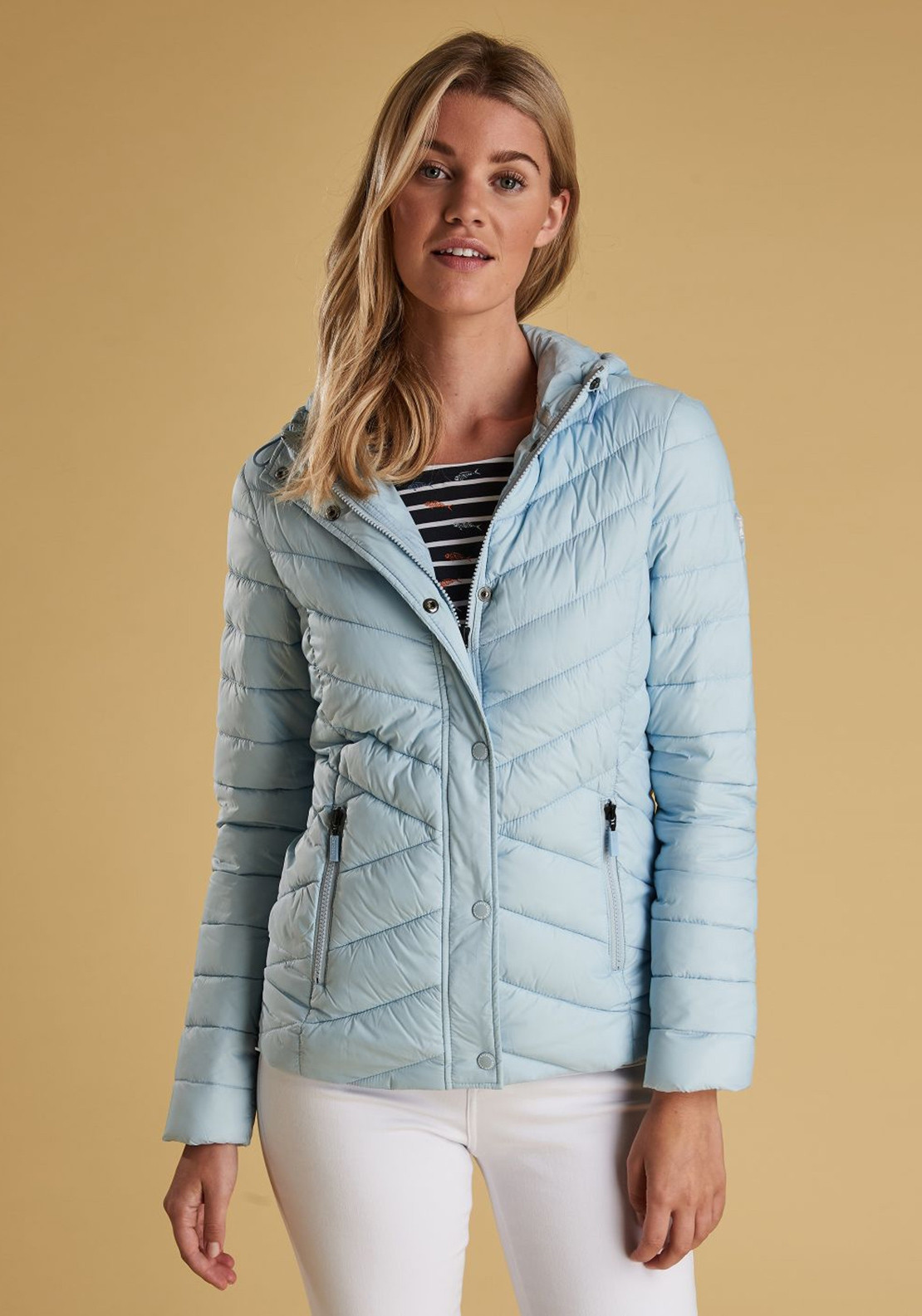 b5f240c204ef0 Barbour Womens Isobath Quilted Jacket, Powder Blue. Be the first to review  this product