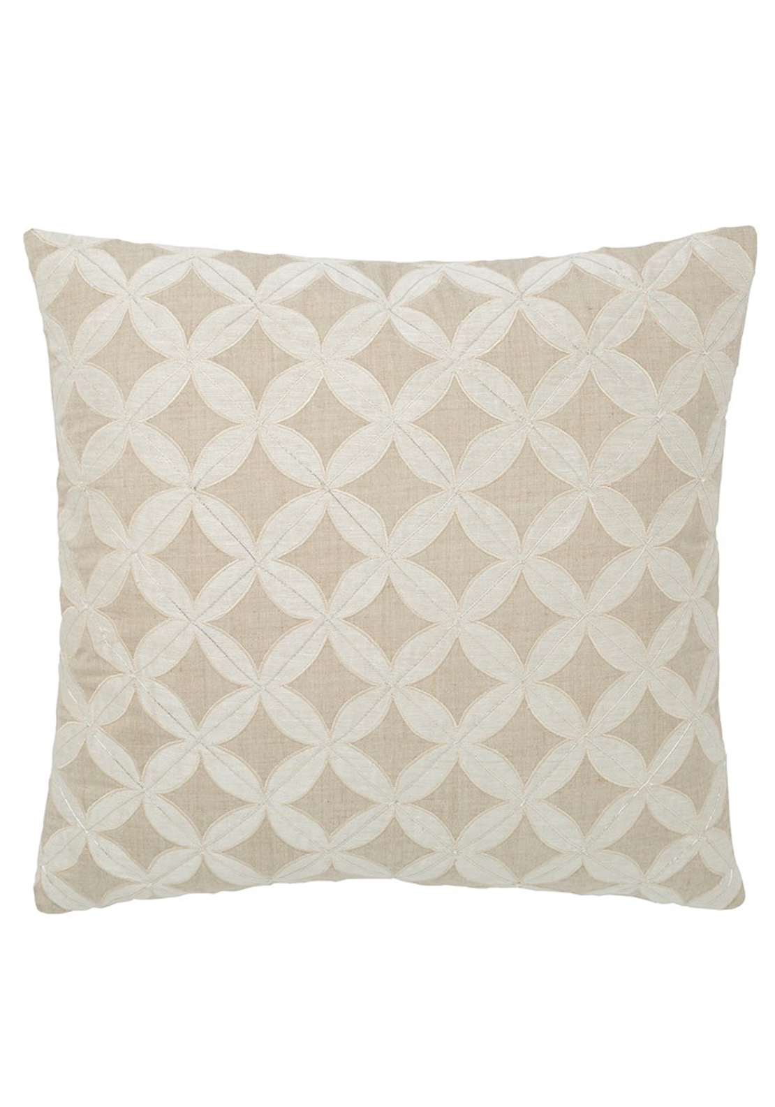 Fable Isla Linen Cushion, 40 x 40cm Beige