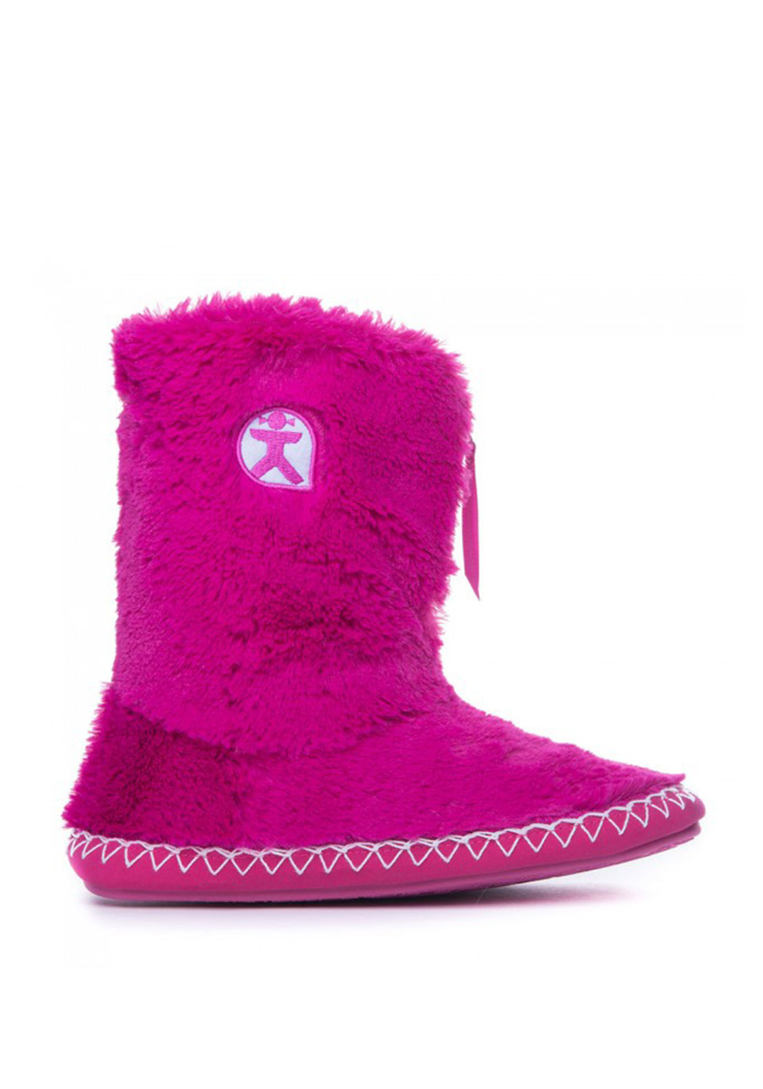 Bedroom Athletics Marilyn Slipper Boots, Hot Pink