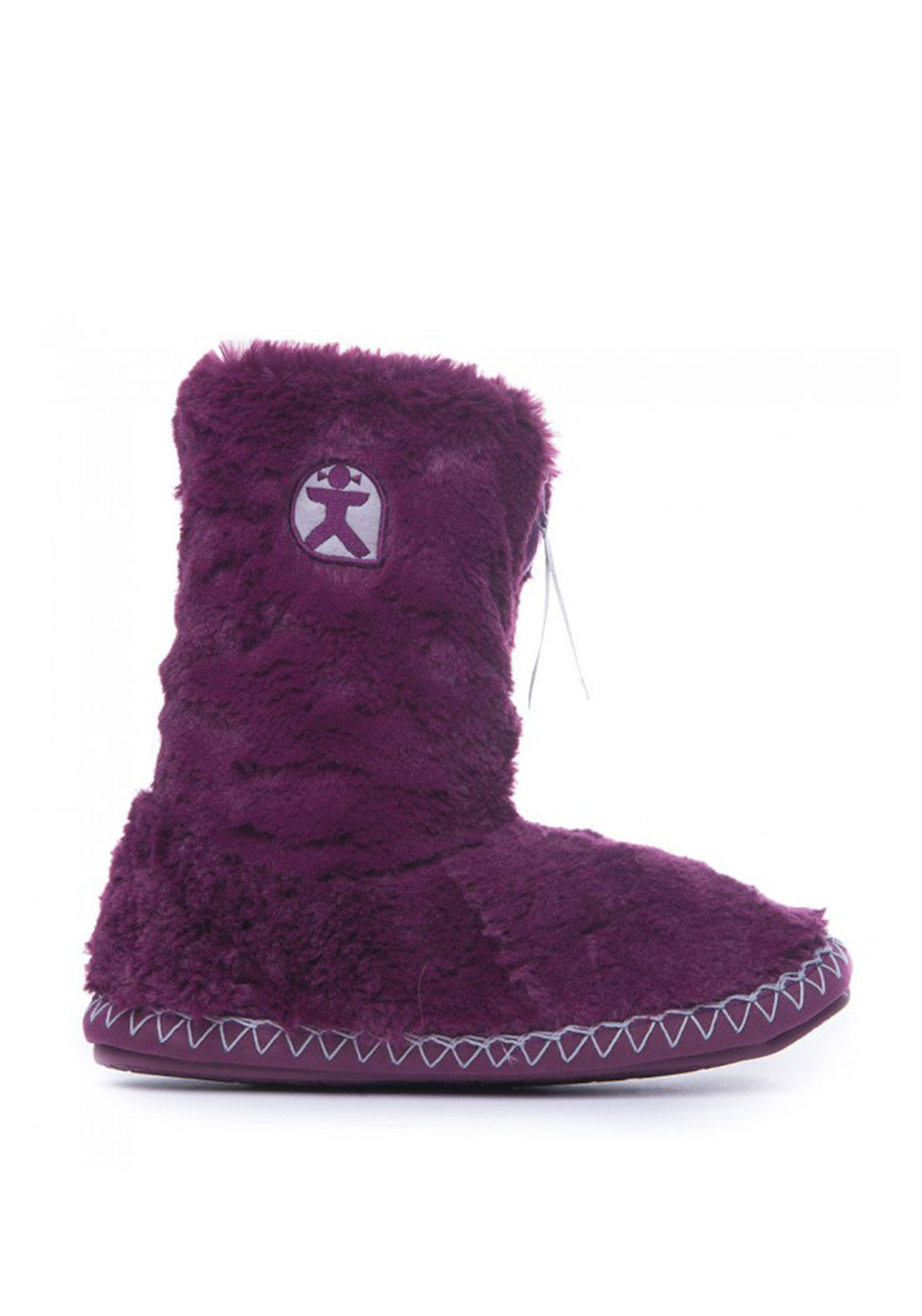 Bedroom Athletics Marilyn Slipper Boots, Plum