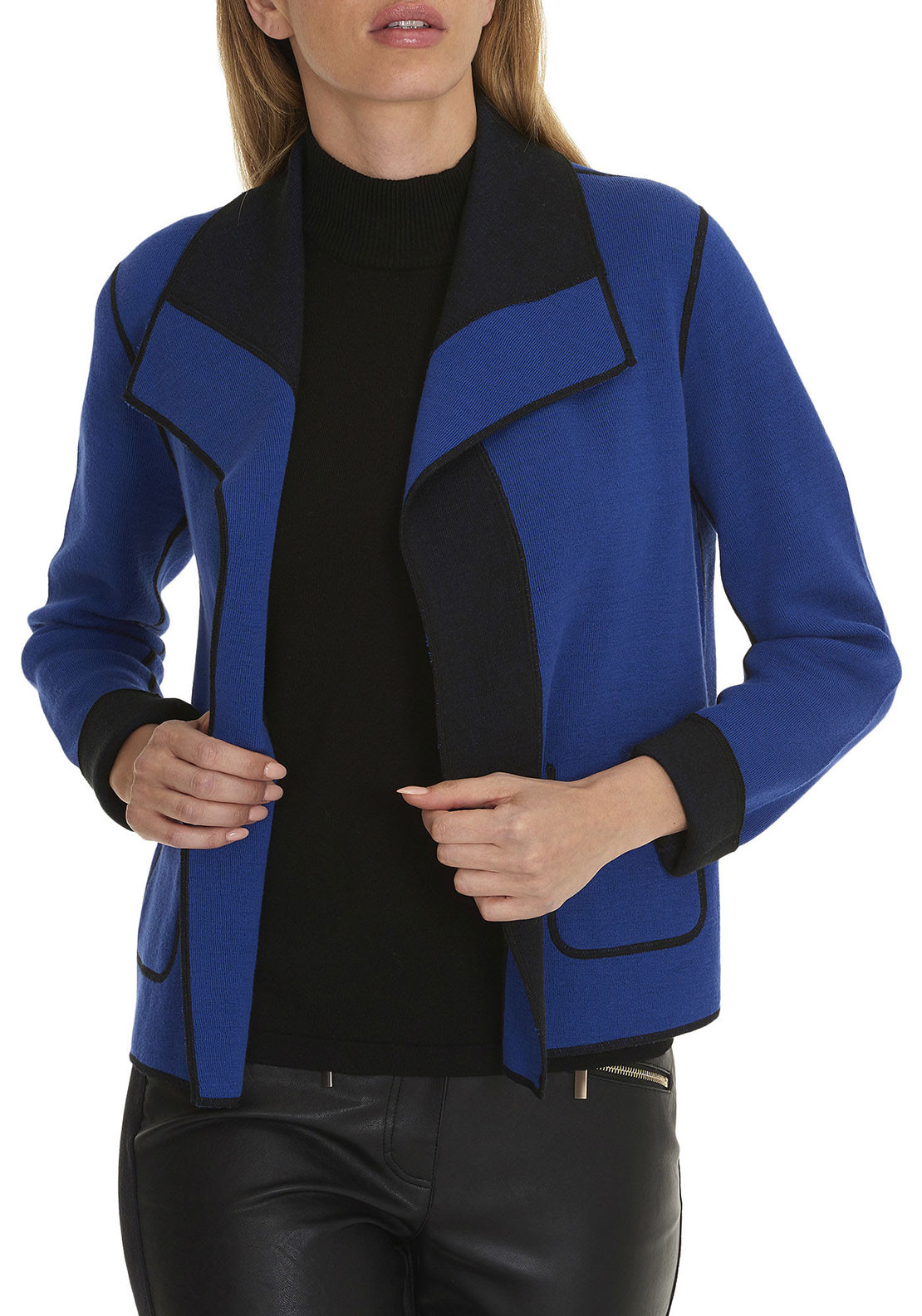Betty Barclay Cotton Blend Cardigan, Blue