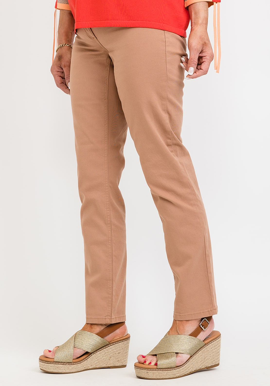 Betty Barclay Slim Fit Jeans, Brown