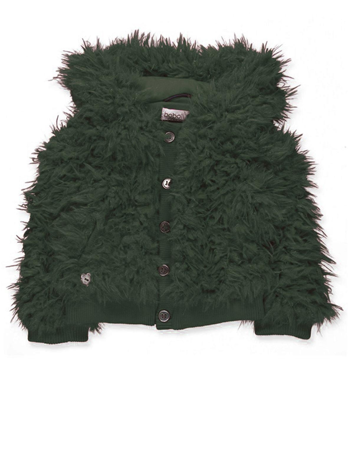 4b031aa25 Boboli Baby Girls Fluffy Jacket